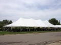 Where to rent CANOPY 40X100 WHITE POLE in Kalamazoo MI