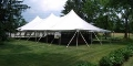 Where to rent CANOPY 40X80 WHITE POLE in Kalamazoo MI