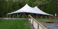 Where to rent CANOPY 40X60 WHITE POLE in Kalamazoo MI