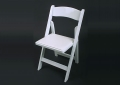 Where to rent CHAIR, WHITE RESIN PADDED in Kalamazoo MI
