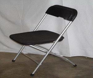 Where to find CHAIR, BLACK ALLOY FOLD in Kalamazoo