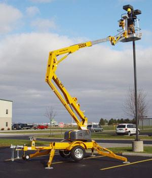 Where to find 43  BUCKET LIFT  29 TOWABLE in Kalamazoo