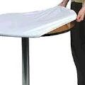 Where to rent TABLE COVER PLASTIC 30  ROUND in Kalamazoo MI