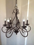 Where to rent CHANDELIER 25 X25  TANNERY BRONZE in Kalamazoo MI