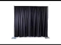 Rental store for PIPE AND DRAPE 8  X 10  SECTION BLK in Kalamazoo MI