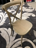 Where to rent CHAIR, LUCCA X-BACK WOOD CHAIR NATURAL in Kalamazoo MI