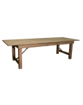 Used Equipment Sales TABLE, FARM TABLE 9  X 40  RUSTIC in Kalamazoo MI