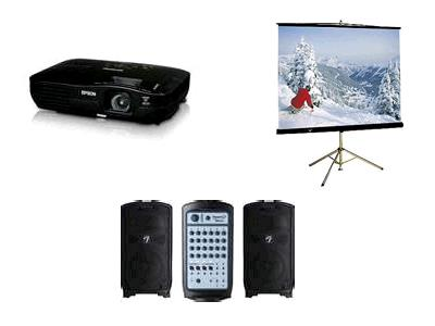 Rent Audio Video Equipment